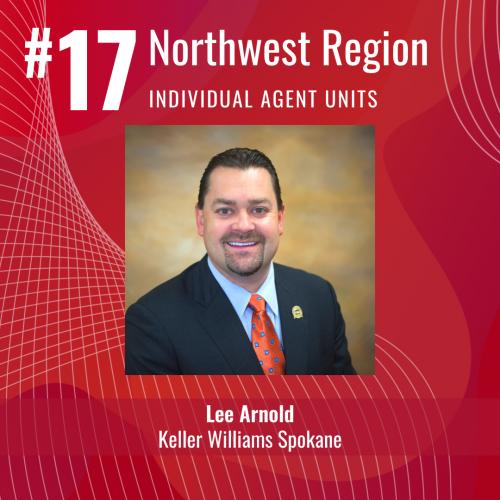 #17 Keller Williams Agent in Northwest Region